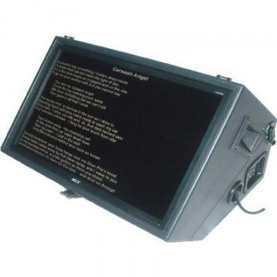 teleprompter da palco